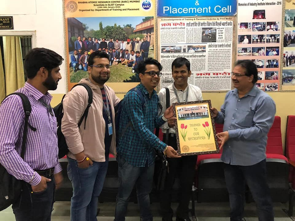 RECRUITERS OF CATALYSTONE INFO SOLUTIONS PVT. LTD. CONDUCTED PLACEMENT DRIVE IN SLIET